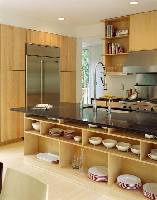 Kitchen islands that double as storage kitchen design blog for Modern kitchen design new york