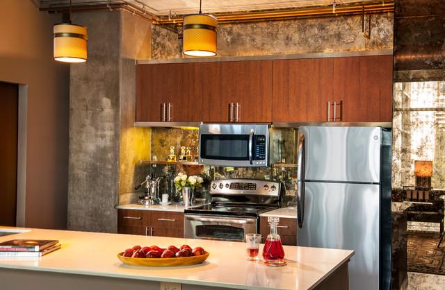 Dwell Magazine   Met Loft Showcase Apartment Contemporary Kitchen