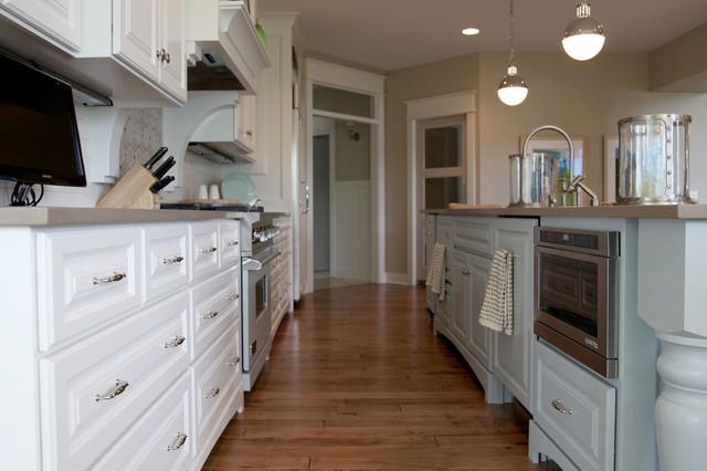 Dwellings transitional-kitchen