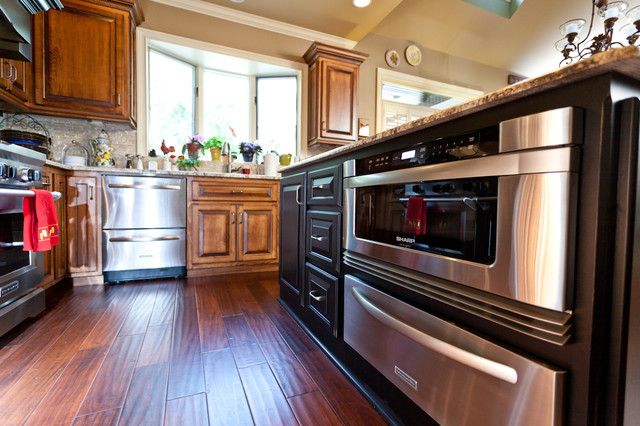 Dyer kitchen remodel transitional kitchen atlanta by bickley design build services inc - Kitchen remodel atlanta ...