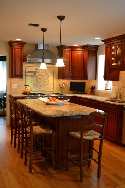Dynasty Alder Mandarin transitional-kitchen