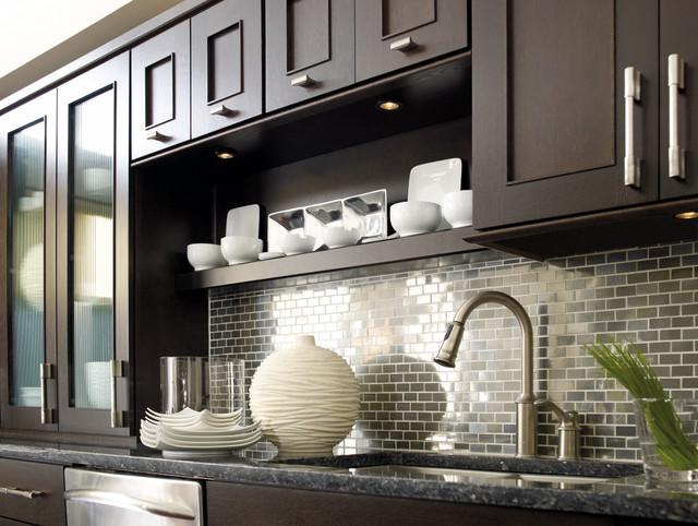Wonderful Dynasty By Omega Cabinetry: Metro Quartersawn Oak Truffle Modern Kitchen