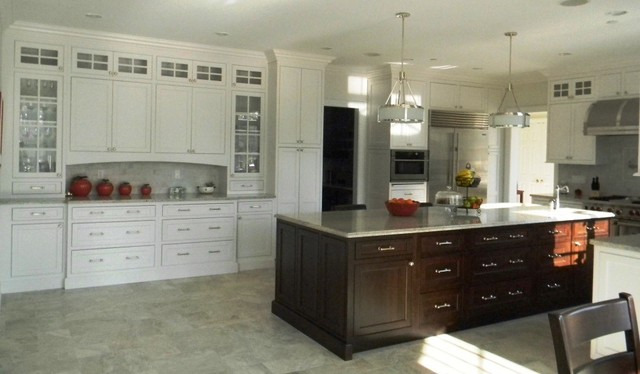 dynasty inset cabinetry - traditional - kitchen - new york -