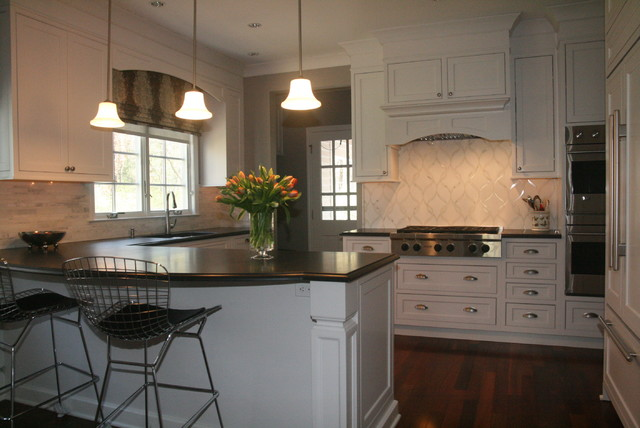 Dynasty Painted Inset Cabinetry Traditional Kitchen New York By Kitchens By Design