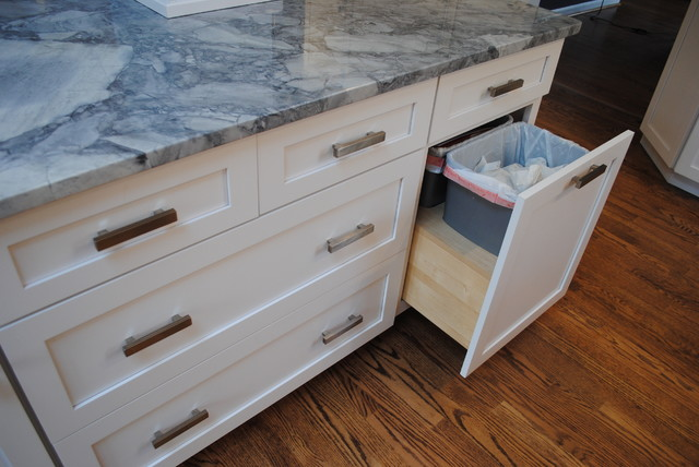 Dynasty Plainfield Maple Pearl contemporary-kitchen