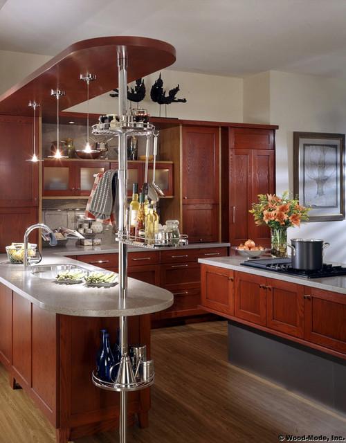 E: Wood Mode 5 contemporary-kitchen