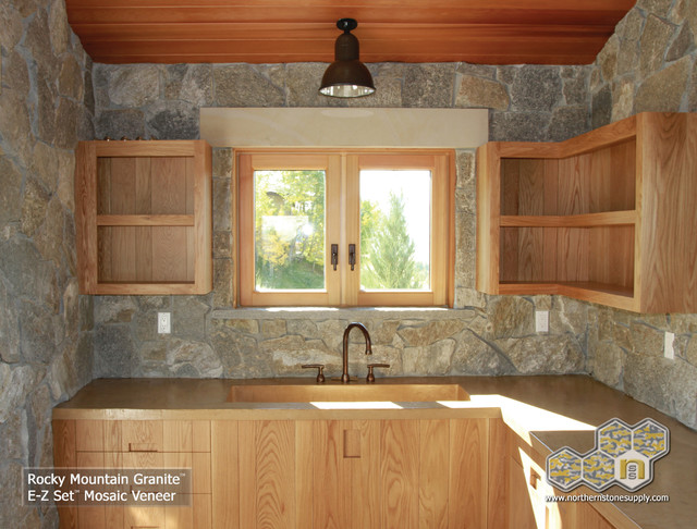 E z set natural stone veneer granite mosaic interior for Jual granit kitchen set