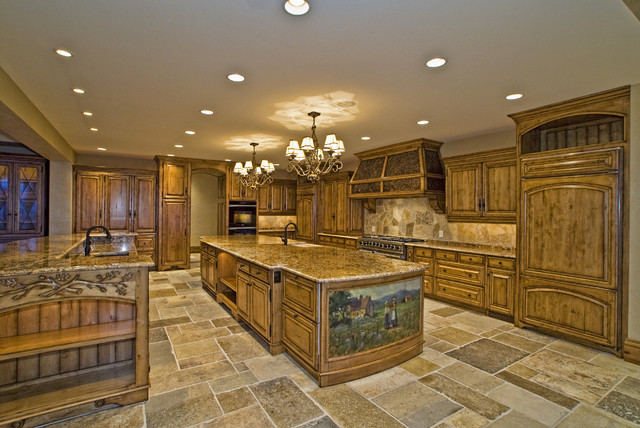 Eagle, Idaho Custom Home eclectic kitchen