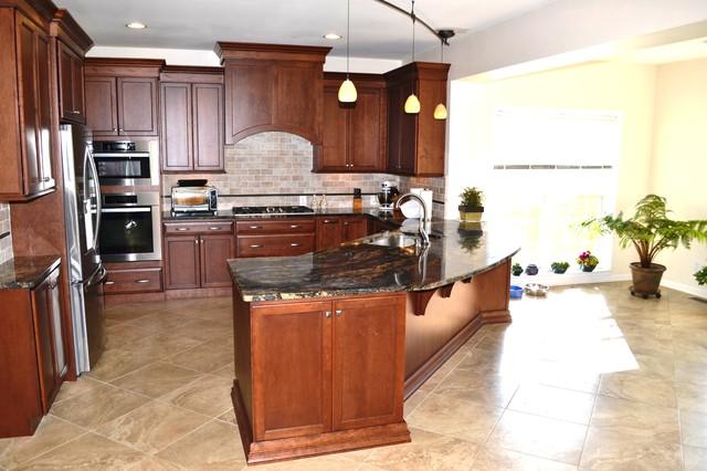 Eagle Kitchen Remodel Transitional Kitchen Philadelphia By Chester County Kitchen Bath