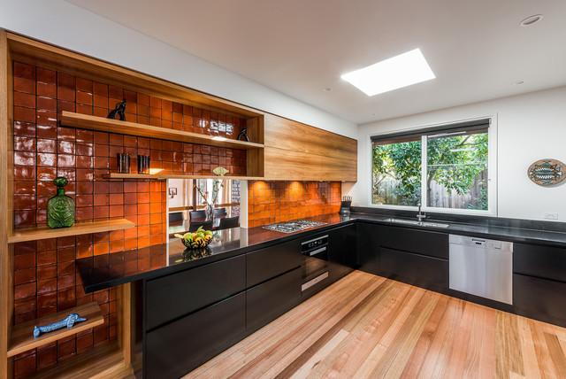 Eaglemont Residence contemporary-kitchen