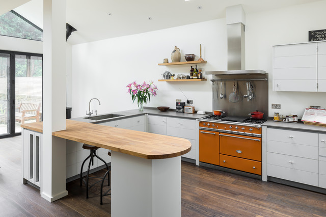 Ealing West London Contemporary Kitchen London By Model Projects Ltd Houzz