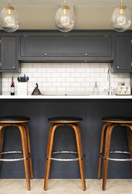 Ealing West London Industrial Kitchen London By The Shaker Kitchen Company