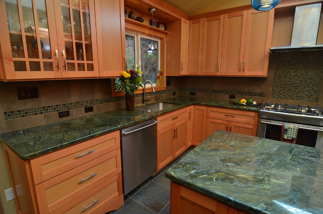 Earthy Kitchen Contemporary Kitchen Other Metro By