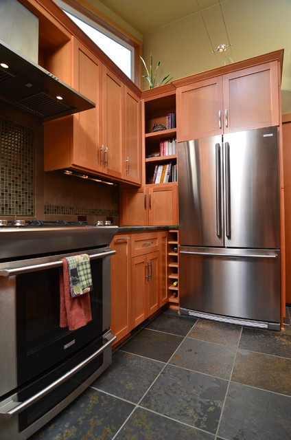 Earthy Kitchen Contemporary Kitchen Portland By