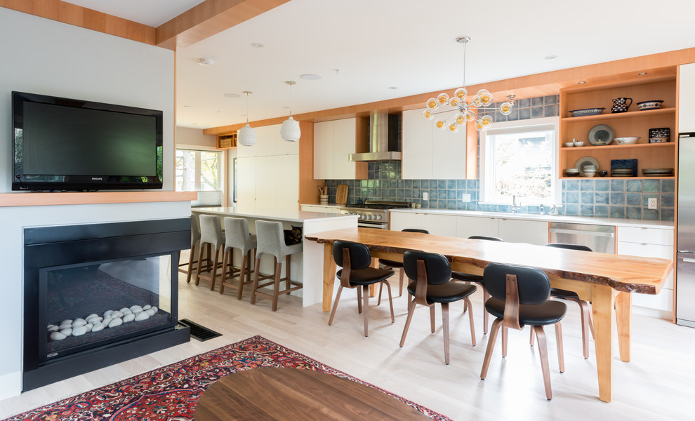 east 32nd ave - Contemporary - Kitchen - Vancouver - by ...