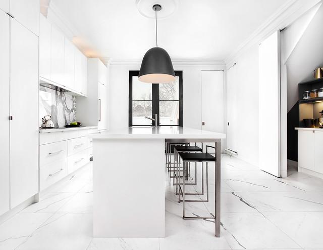 East Annex Kitchen - Contemporary