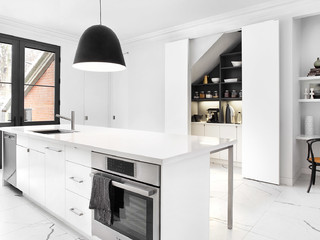 East Annex Kitchen Contemporary Kitchen Toronto By Palmerston Design Consultants