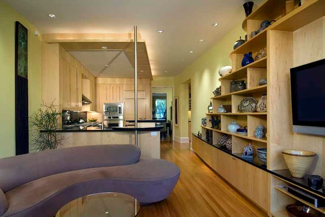East Capitol Street Residence contemporary-kitchen