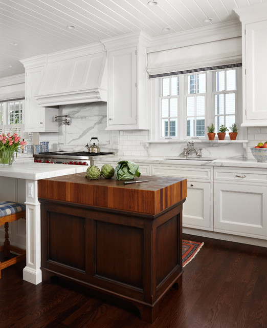 Wood Mode Kitchen With A Gorgeous Kitchen Island Http: East Coast Traditional Kitchen