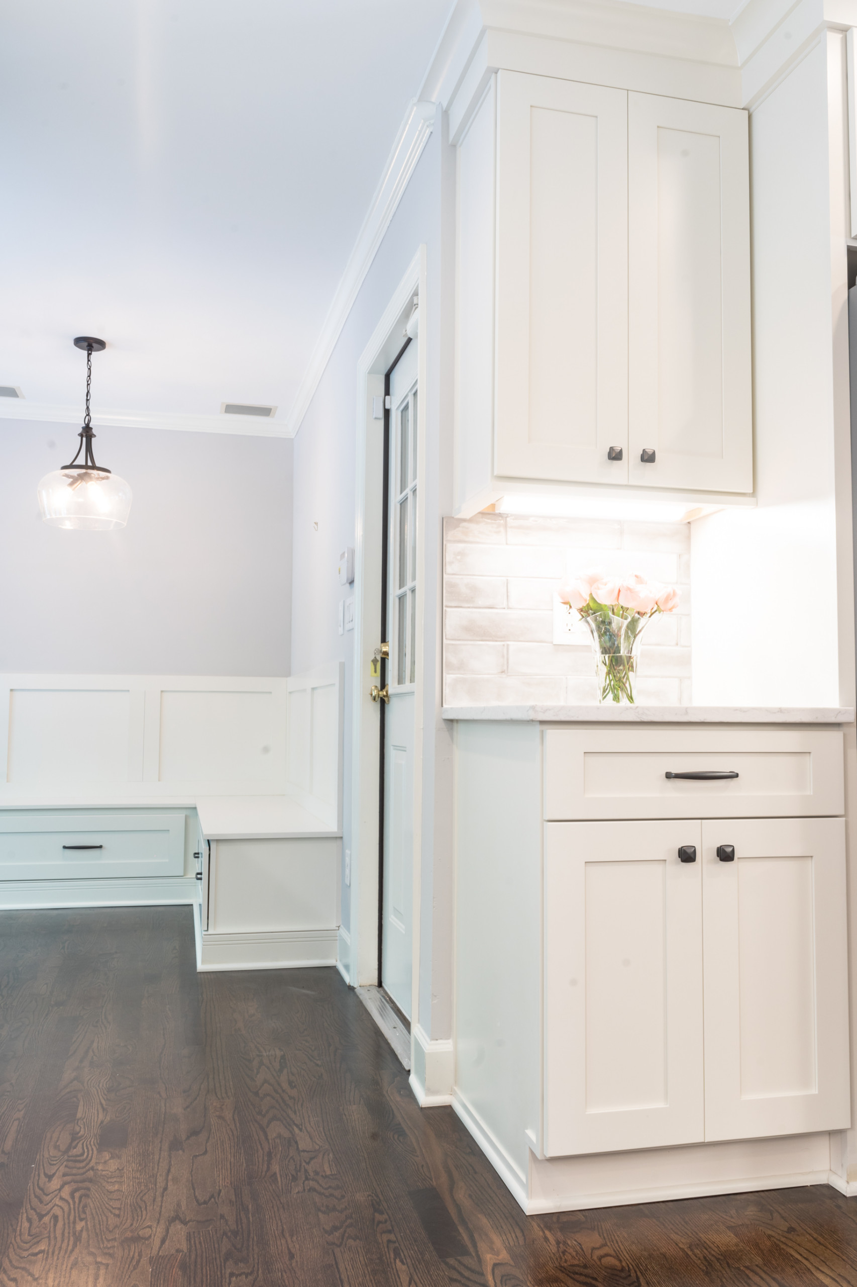 East Cobb Muted and Modern Kitchen