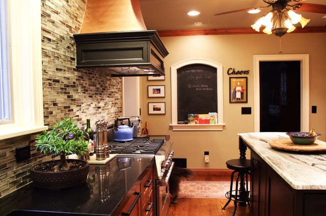 East Paces Kitchen traditional-kitchen