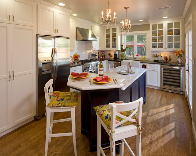 East Pacific Avenue Kitchen Remodel - Traditional - Kitchen ...