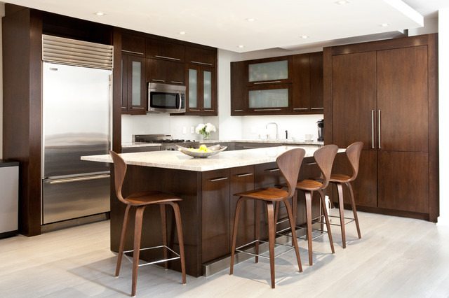 East Side Contemporary - Contemporary - Kitchen - New York - by Jessica Gersten Interiors