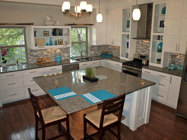 East Side Green Treehouse contemporary-kitchen