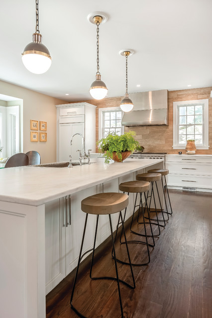 East Trail Darien Ct Contemporary Kitchen New York By Jody Deluca Designs