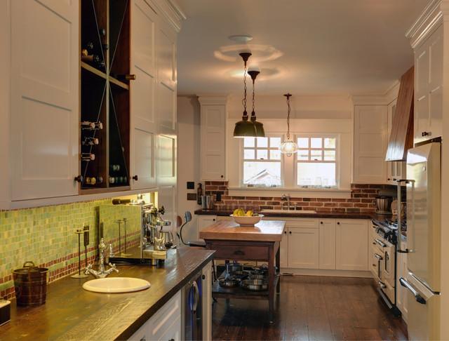 East Vancouver Edwardian Home Restoration traditional-kitchen