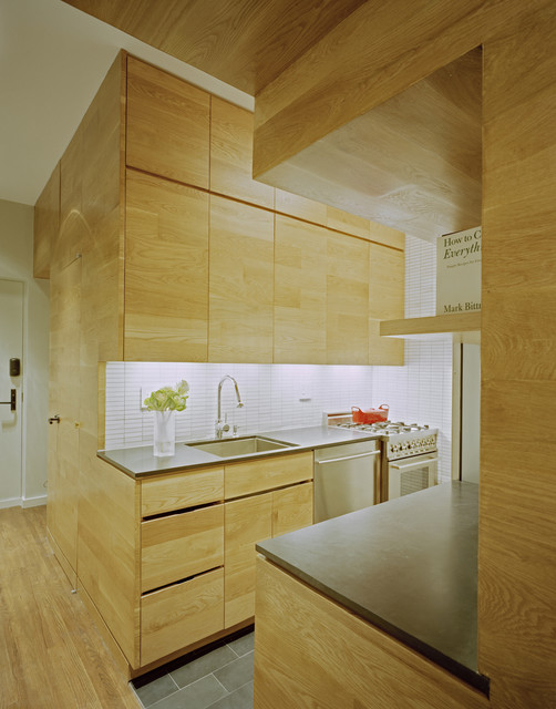 East Village Studio modern kitchen