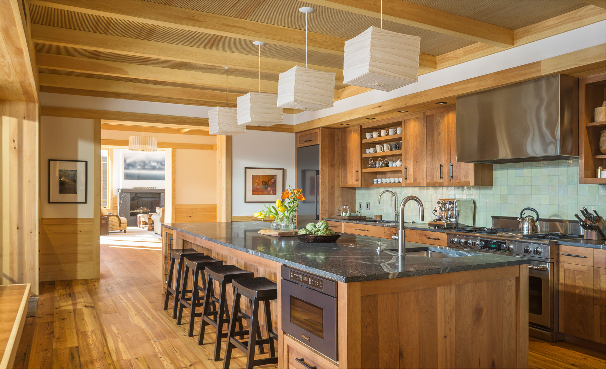 9 Beautiful Exposed Beam Kitchen Pictures & Ideas   June, 9 ...
