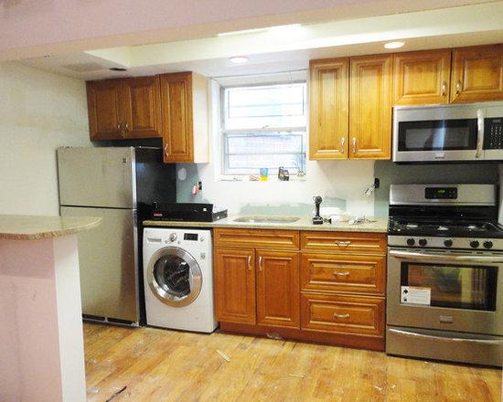 Golden mascarello countertop home design ideas pictures for Low budget kitchen design