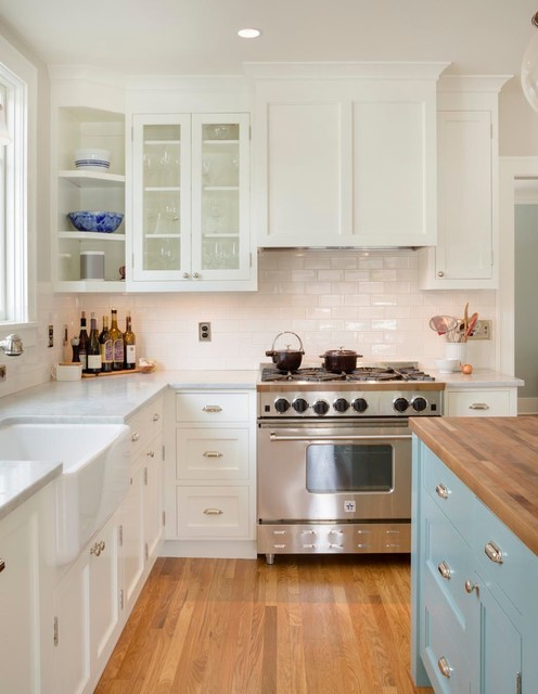 Eastmoreland Dutch Colonial Addition - Traditional - Kitchen ...