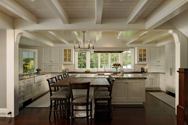 Houzz Kitchens With Two Islands