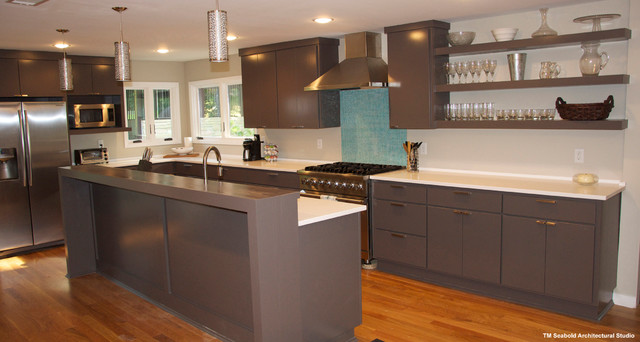 Eastover Contemporary Remodel contemporary-kitchen