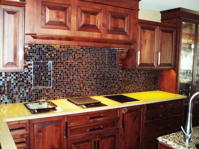 Eau Claire, WI condo kitchen remodel traditional-kitchen
