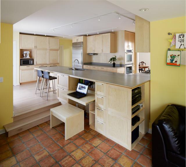 EBR contemporary-kitchen