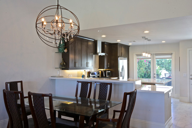 Ecelctic Residence Palm Desert Remodel contemporary-kitchen