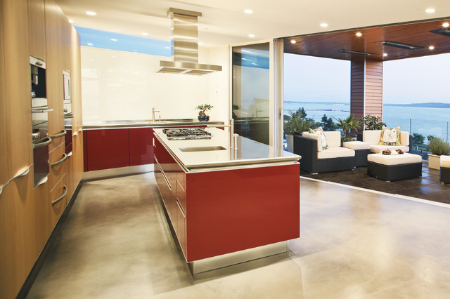 Echo beach modern kitchen vancouver by kbcdevelopments for Kitchen ideas vancouver