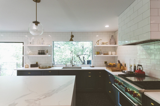 Eclectic and Moody Remodel eclectic-kitchen
