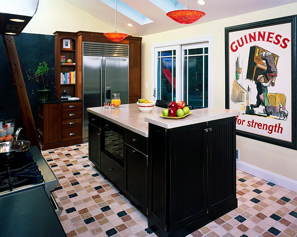 Eclectic Arlington Kitchen