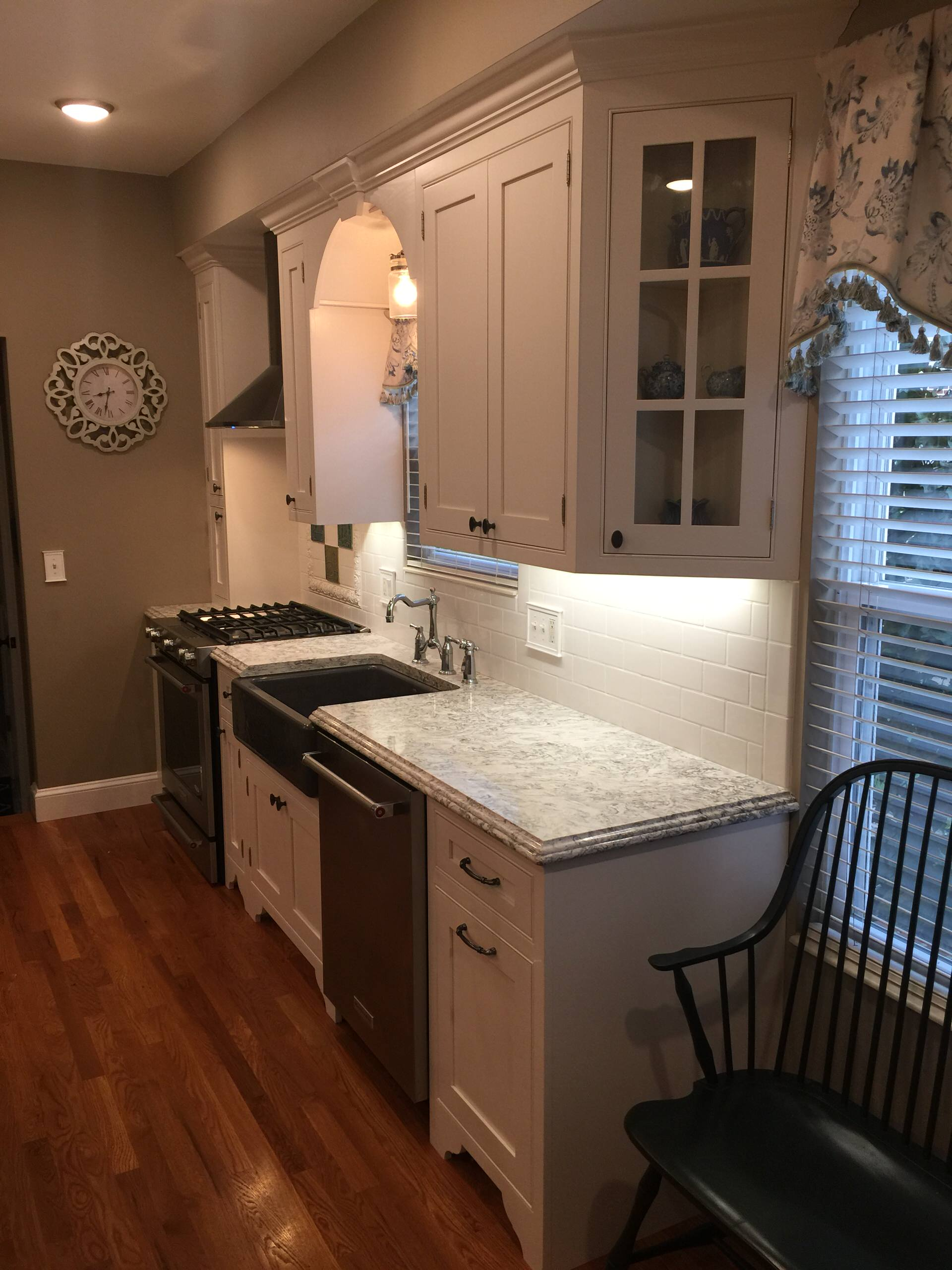 Eclectic Beaded inset Kitchen