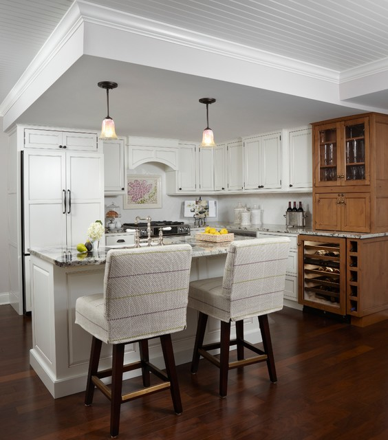 Eclectic White Kitchen: Eclectic Condo
