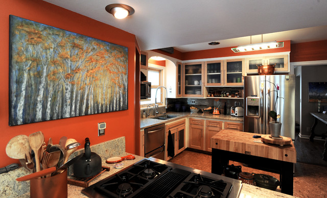 Eclectic historic eclectic kitchen by l designs for Colorado kitchen designs llc