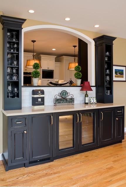 Aurora Kitchen Bar Remodel 2012 Eclectic Kitchen Chicago By Casa By Charleston