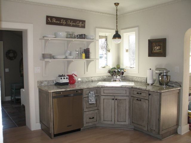 kitchen - Eclectic - Kitchen - other metro - by Geneva Cabinet Company