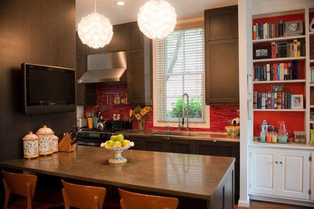 contemporary kitchen by Kelly Nelson Designs