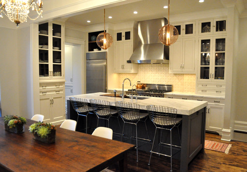 eclectic kitchen Mixed Metal Finishes Done Right