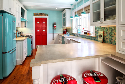 Image Source: Http://www.homedit.com/add Style To Your Kitchen With Retro  Appliances/